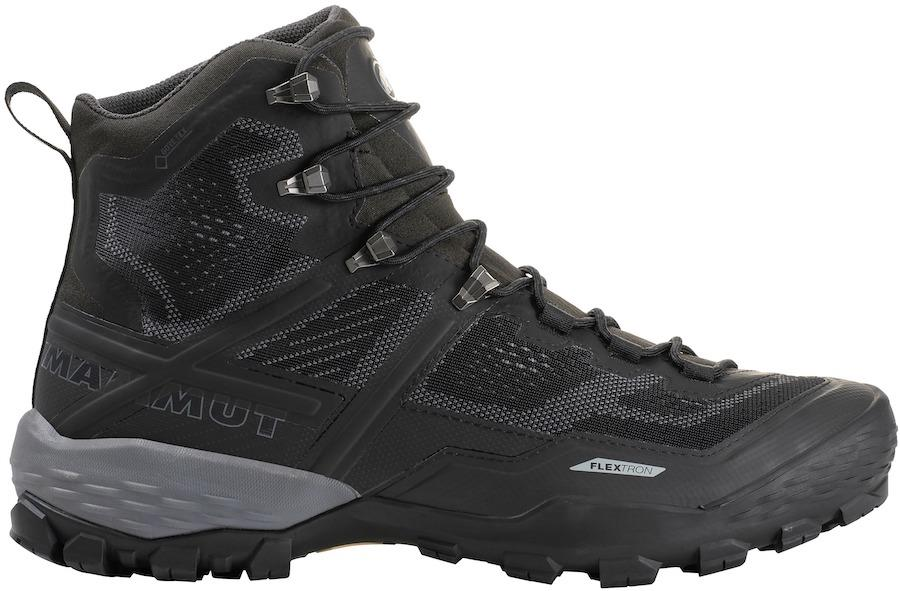 Mammut Ducan High GTX Men's Hiking Boots, UK 12 Black/Black