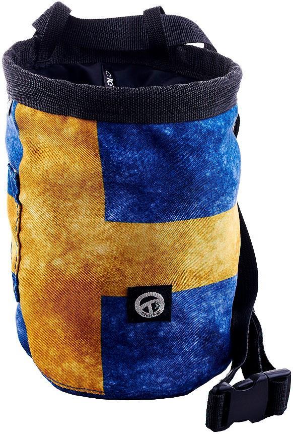 Charko Flag Bags Rock Climbing Chalk Bag, Regular Sweden