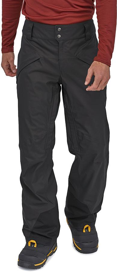 Patagonia Men's Snowshot Regular Snowboard/Ski Pants S Black