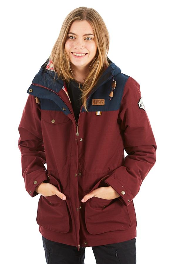 Picture Kate Women's Ski/Snowboard Jacket, S Burgundy