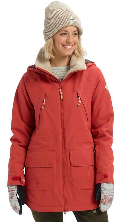 Burton Prowess Women's Snowboard/Ski Jacket, XS Tandori