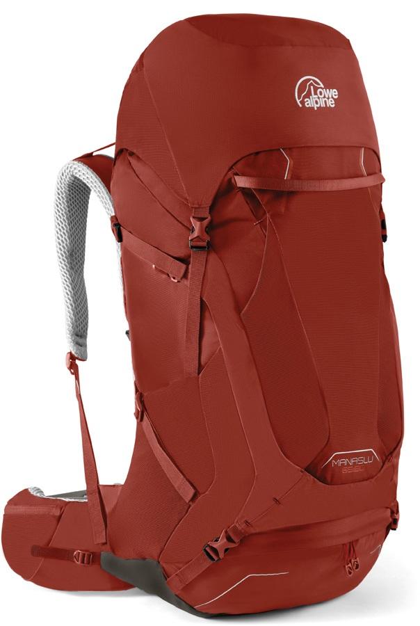 Lowe Alpine Manaslu 65:80 M/L Trekking Backpack, 80L Auburn