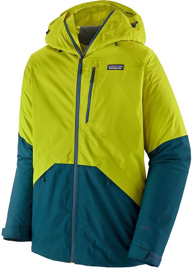 Patagonia Snowshot Snowboard/Ski Jacket, L Chartreuse