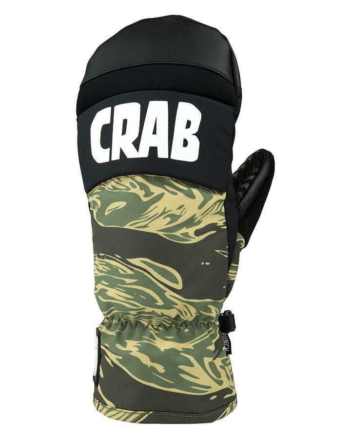 Crab Grab Punch Snowboard / Ski Mitts, M Tiger Camo