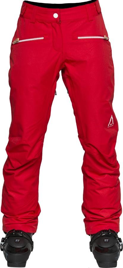 Wearcolour Cork Women's Ski/Snowboard Pants, M Red