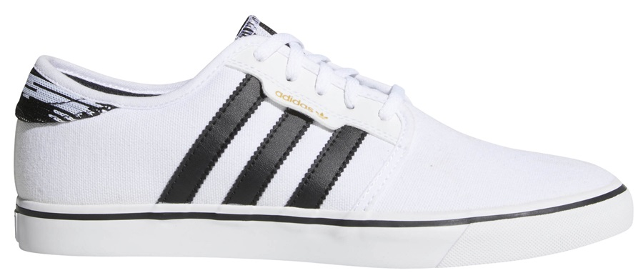 Adidas Seeley Men's Trainers Skate Shoes UK 11.5 FTWR White/Core Black