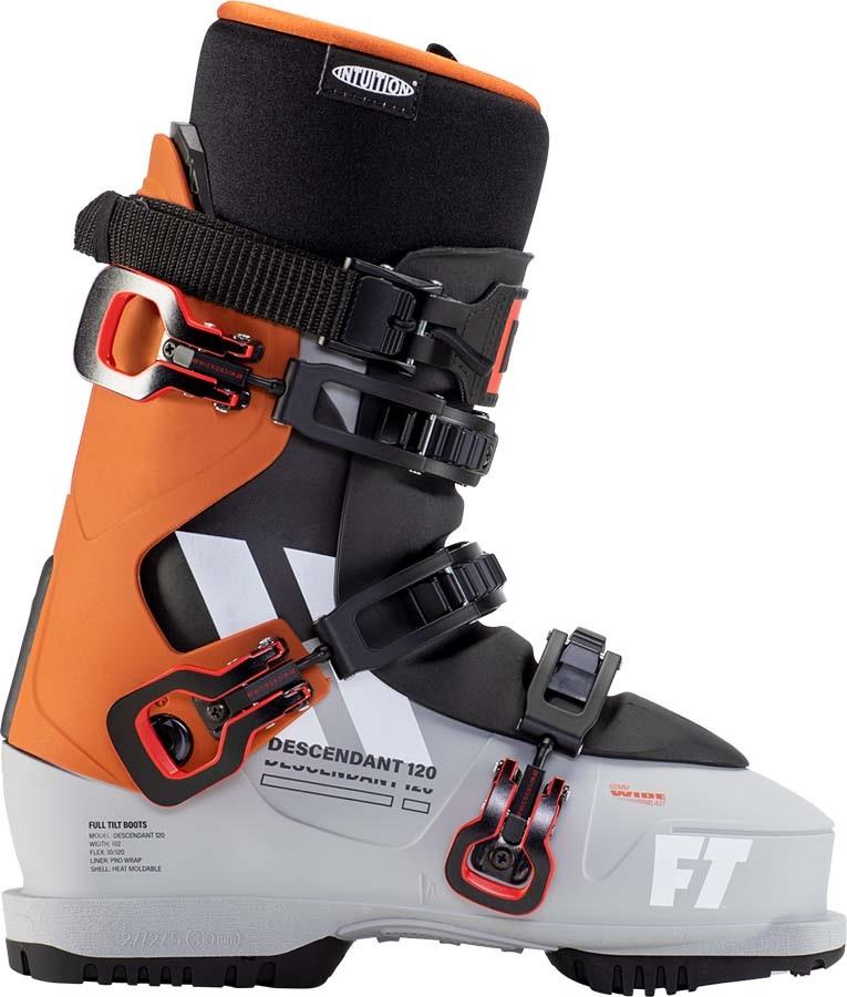 Full Tilt Descendant 120 Grip Walk Ski Boots, 25/25.5 Orange 2021