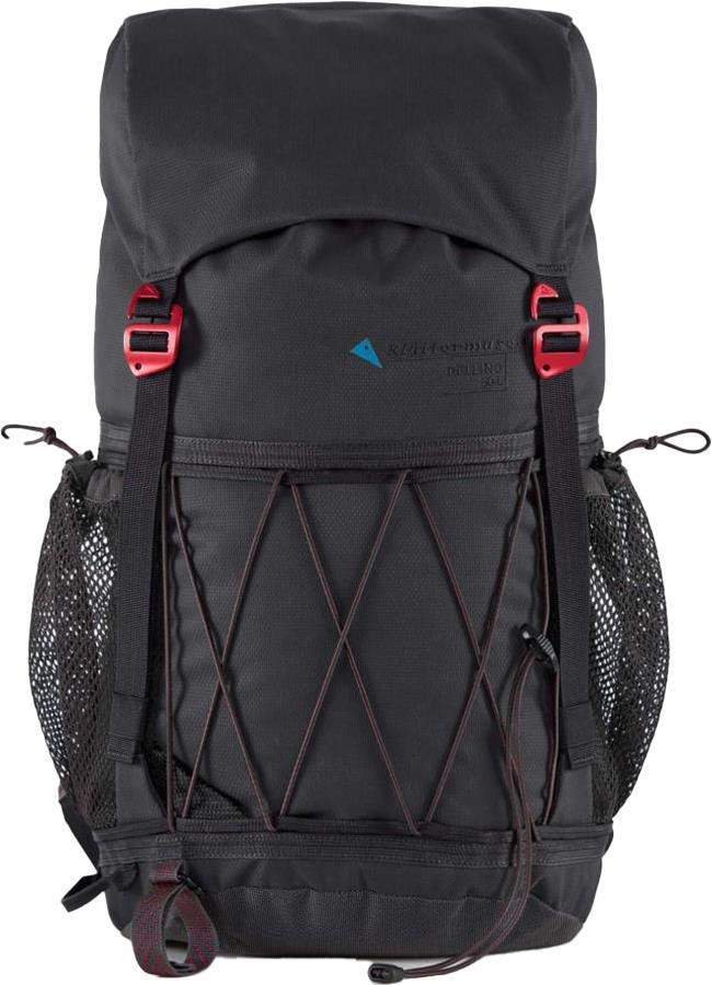 Klattermusen Delling 30 Compact Hiking Backpack, 30L Raven