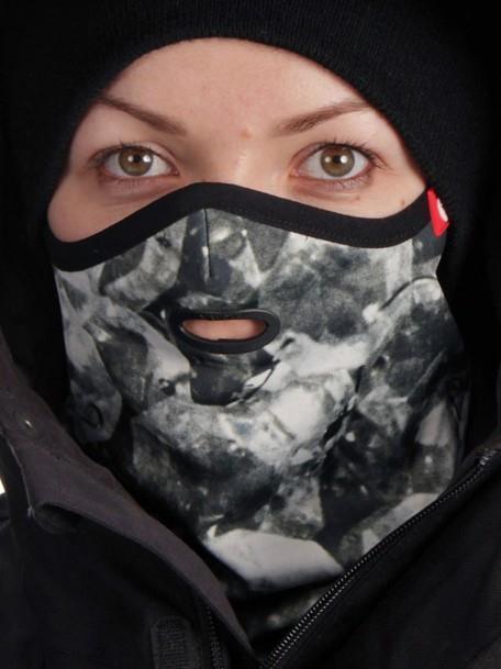 Airhole Standard Ergo Ski/Snowboard Face Mask S/M | Womens Diamonds