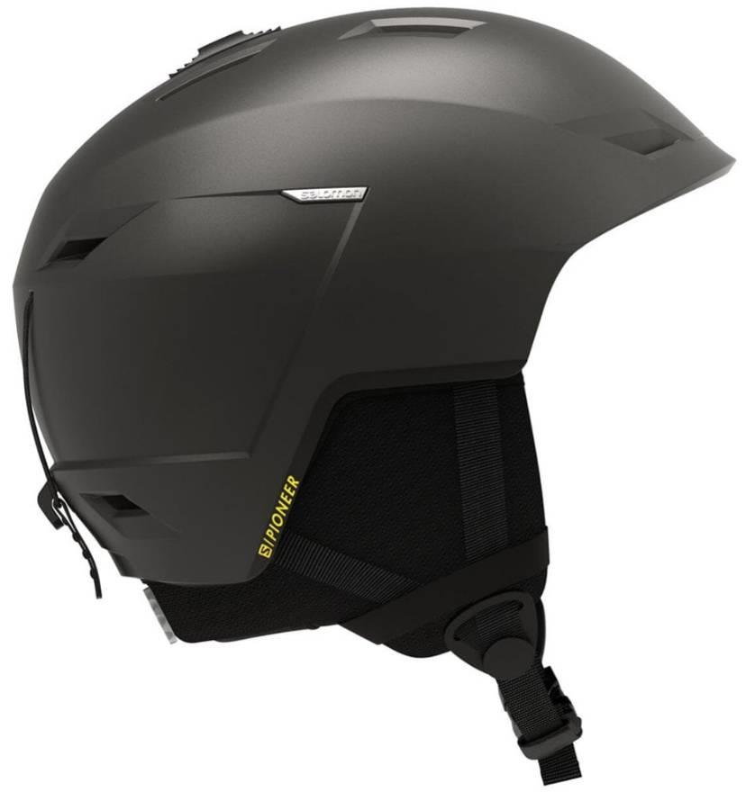 Salomon Pioneer LT Snowboard/Ski Helmet, M Beluga Saffran