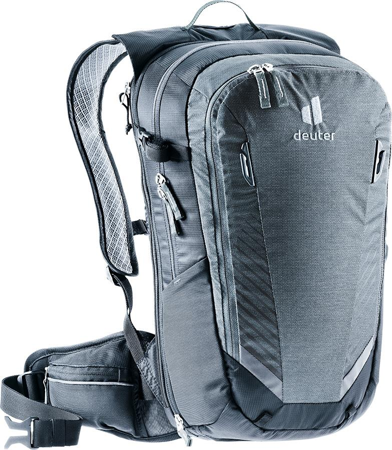 Deuter Compact EXP 14 Daypack Cycling Backpack, 14L Graphite/Black