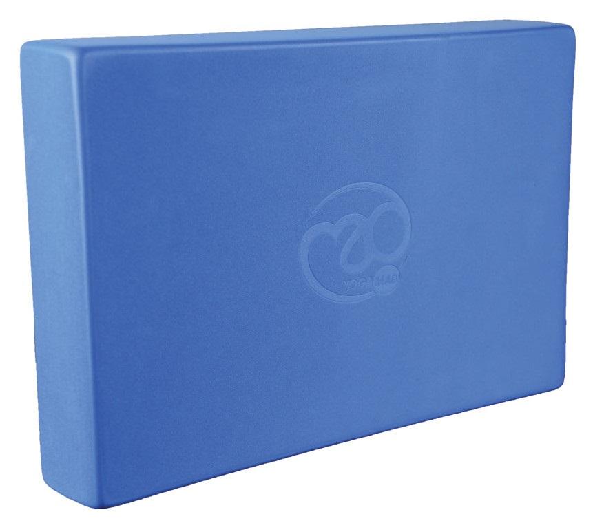 Yoga Mad Full Yoga/Pilates Block, 30.5cm X 20.5cm X 5cm Blue