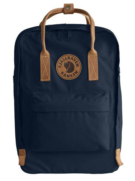 """Fjallraven Kanken No.2 Laptop 15"""" Backpack, 18L Navy"""