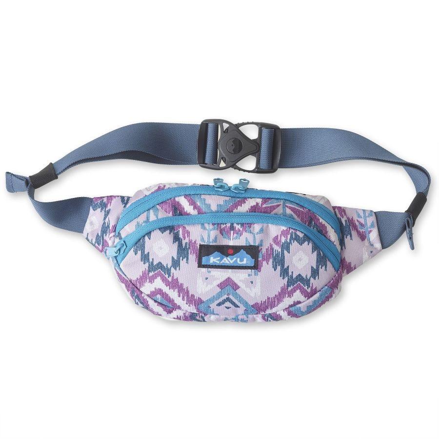 Kavu Spectator Bum/Hip/Waist Bag 1L Purple Ikat