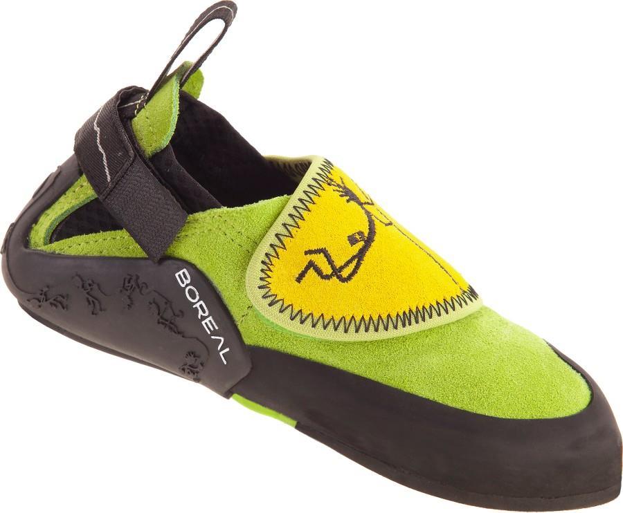 Boreal Ninja Junior Kid's Rock Climbing Shoe UK 9-10 | EU 27-28 Green