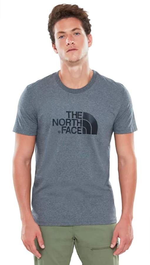 The North Face Short Sleeve Easy Men's Climbing T-shirt S Grey Heather