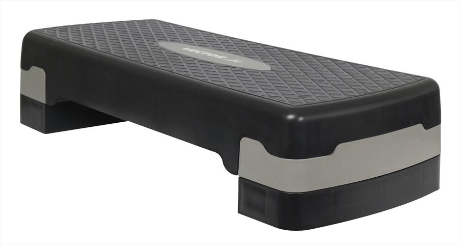 Vector X Adjustable Fitness Aerobic Step, 68 X 28.5 CM Black