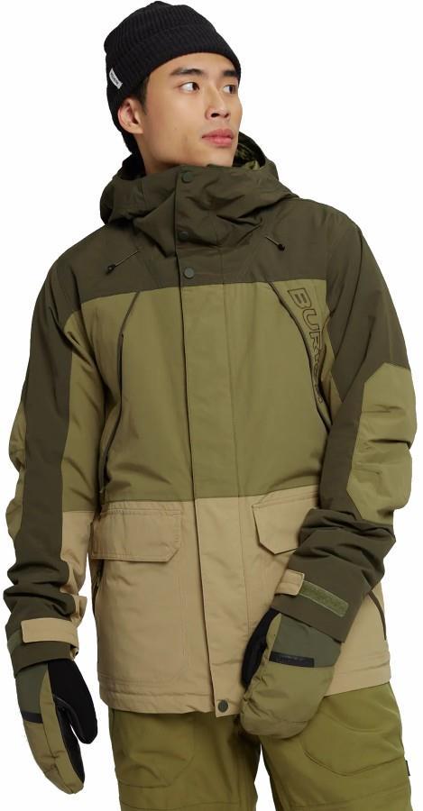 Burton Breach Ski/Snowboard Jacket, M Martini/Kelp