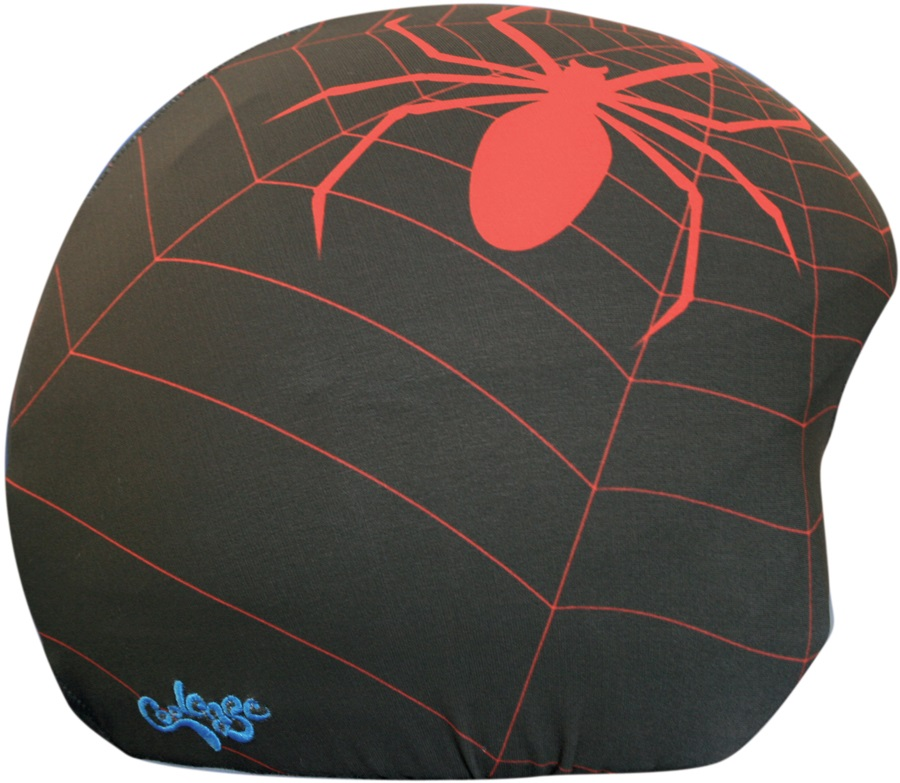 Coolcasc Printed Cool Ski/Snowboard Helmet Cover, One Size, Spider