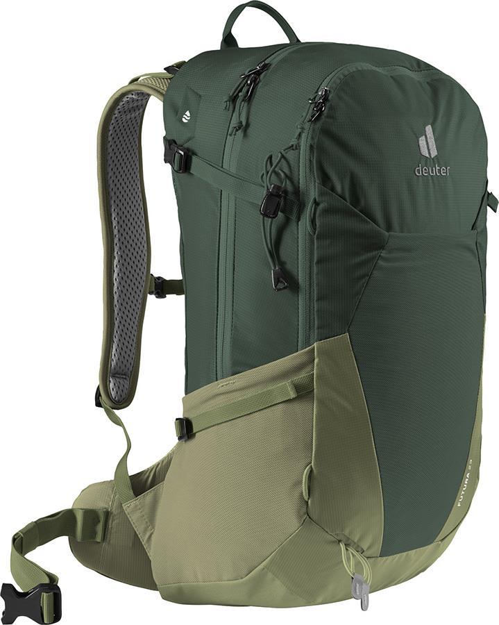 deuter Futura 23 Daypack Hiking Backpack, 23L Ivy/Khaki