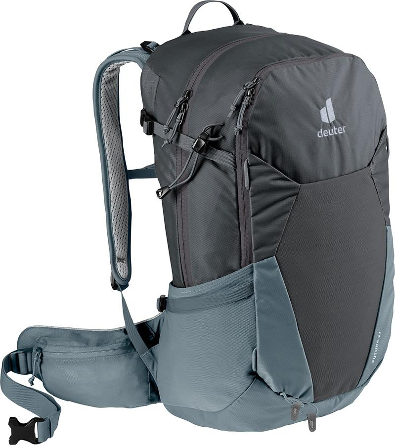 deuter Futura 27 Daypack Hiking Backpack, 27L Graphite/Shale