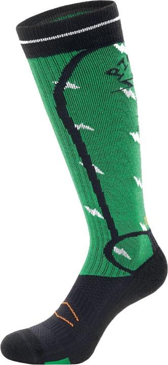 Picture Magical Snowboard & Ski Socks, S Green