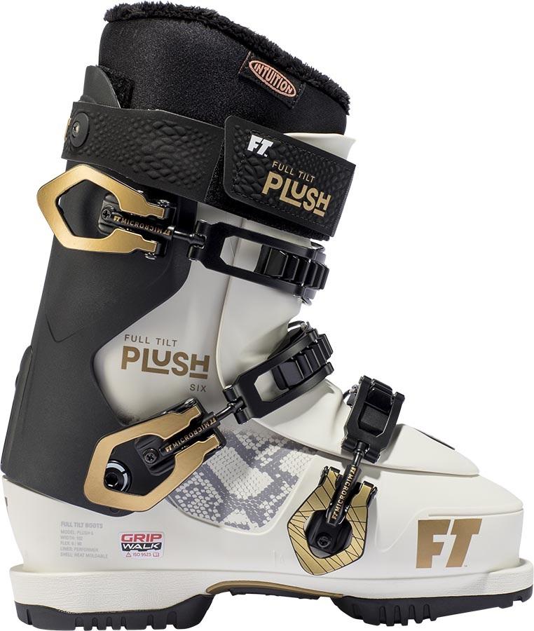 Full Tilt Plush 6 GW Women's Ski Boots, 27/27.5 White/Gold 2020
