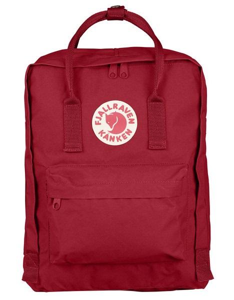 Fjallraven Kanken Backpack, 16L Deep Red