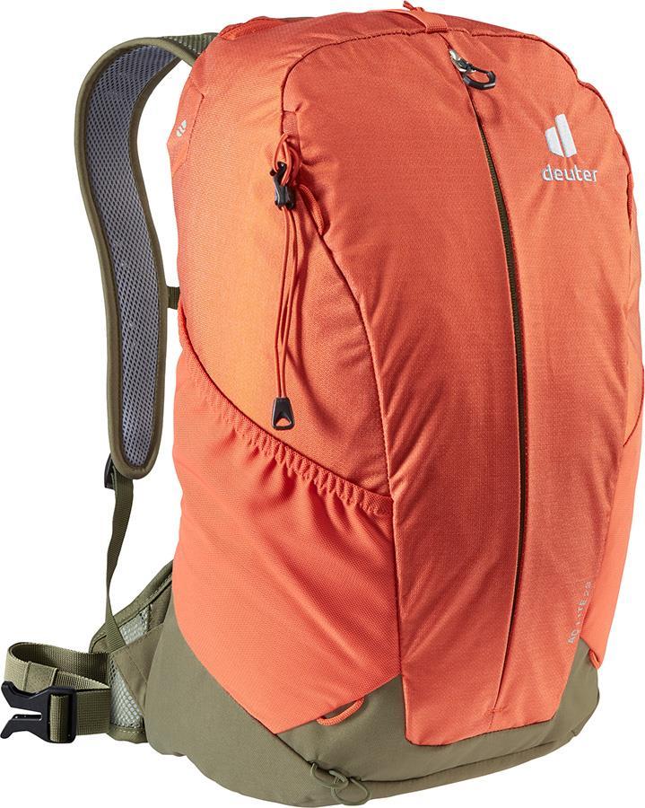 Deuter AC Lite 23 Daypack Hiking Backpack, 23L Paprika/Khaki