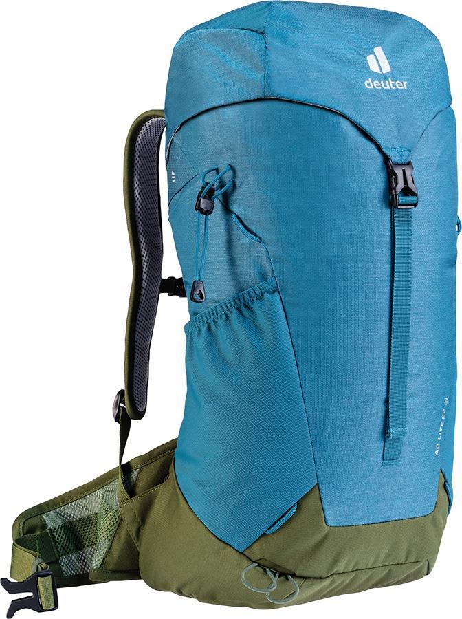 Deuter AC Lite 22 SL Women's Hiking Day/Backpack, 22L Denim/Pine