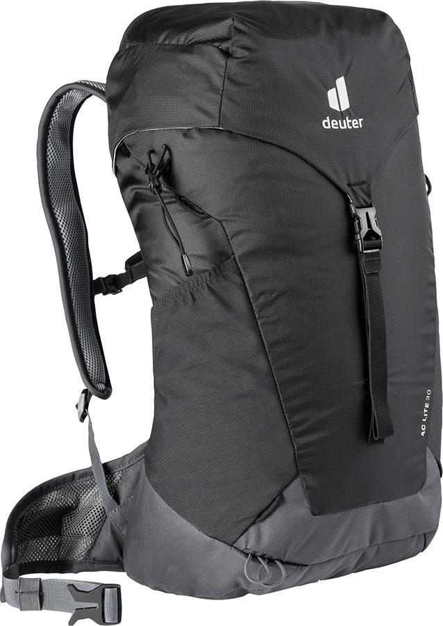 Deuter AC LIte 30 Daypack Hiking Backpack, 30L Black/Graphite