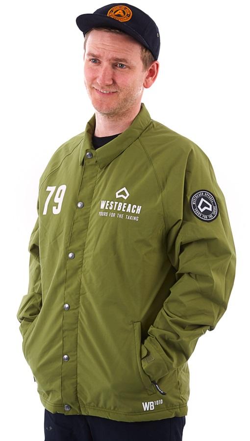 Westbeach Cruiser Ski/Snowboard Coaches Jacket, S Combat Green