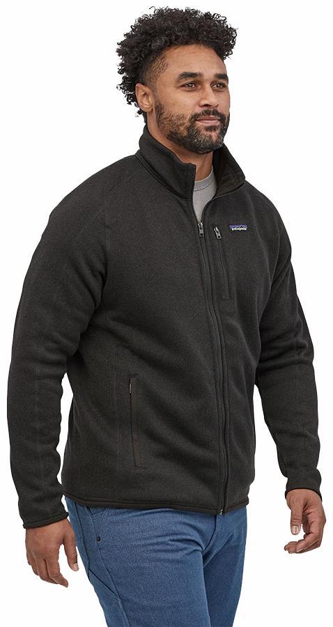 Patagonia Better Sweater Full Zip Fleece Jacket, S Black
