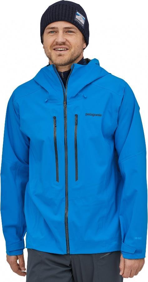 Patagonia Stormstride Ski/snowboard Zip Up Jacket, M Andes Blue