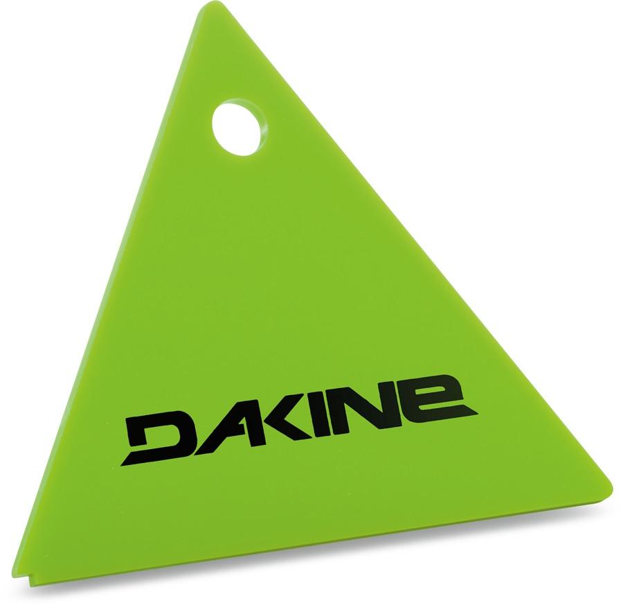 Dakine Triangle Scraper Snowboard/Ski Wax Removing Tool, Green