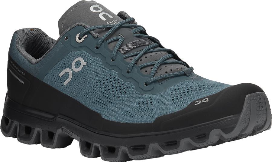 On Adult Unisex Cloudventure Men's Running Shoes, Uk 7.5 Shadow/Rock