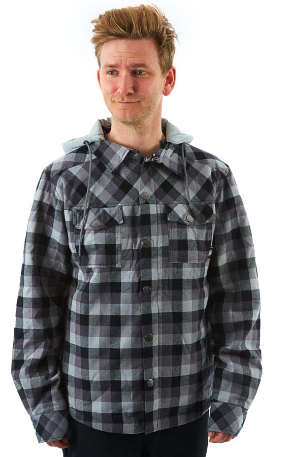 Saga Workwear Ski/Snowboard Insulated Jacket, M Shadow