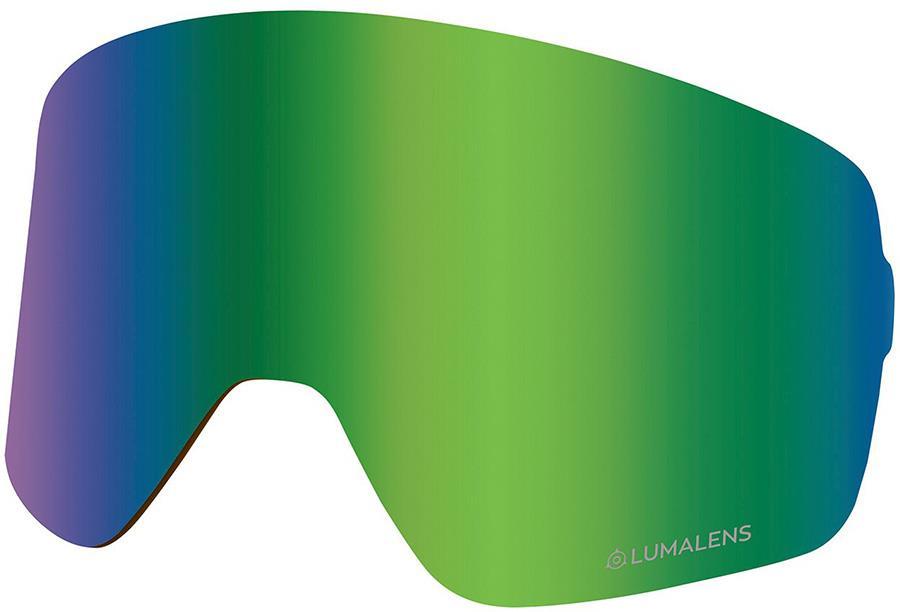 Dragon NFX2 Ski/Snowboard Goggles Spare Lens, LumaLens Green Ion