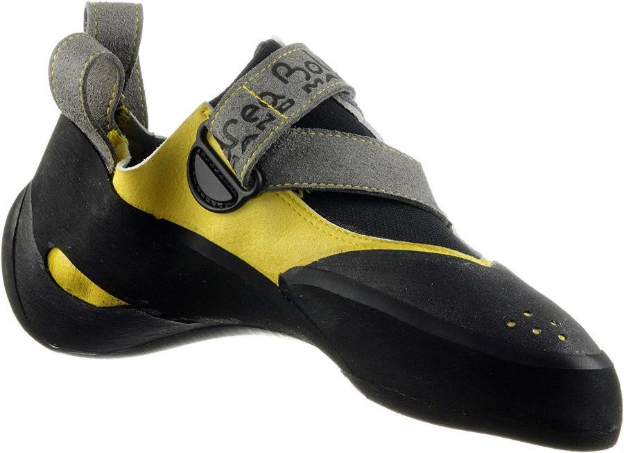 Andrea Boldrini Spider Rock Climbing/Bouldering Shoe, UK 7 Yellow