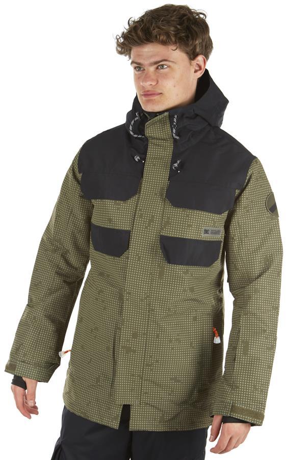DC Haven Ski/Snowboard Insulated Jacket, M Olive Desert Night Camo