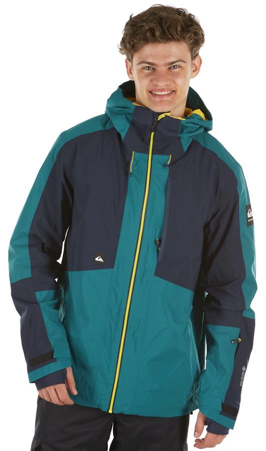 Quiksilver Forever 2l Gore-Tex Ski/Snowboard Jacket, S Everglade