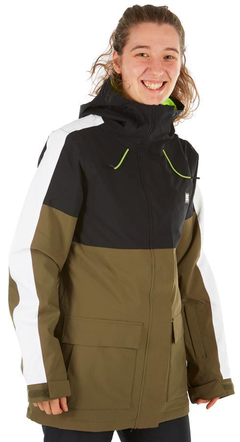 DC Cruiser Women's Ski/Snowboard Insulated Jacket, XS Black