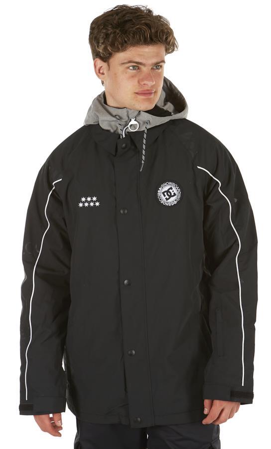 DC DCSC Coaches Ski/Snowboard Insulated Jacket, S Black