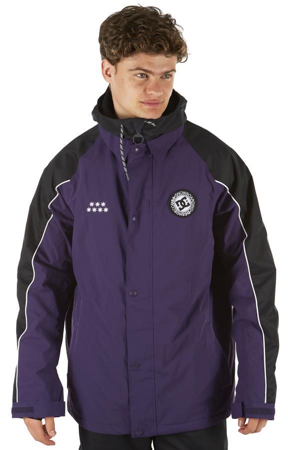 DC DCSC Coaches Ski/Snowboard Insulated Jacket, M Grape