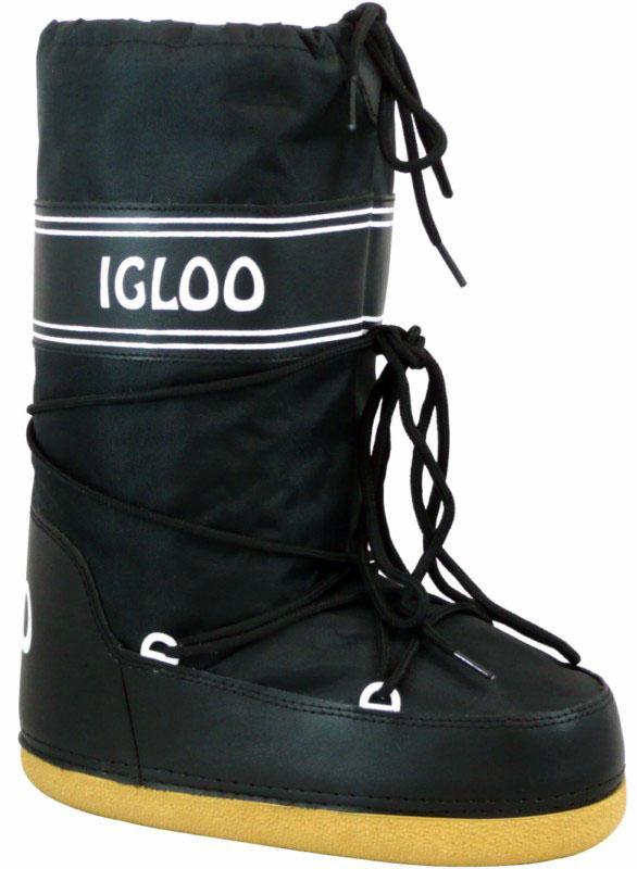 Manbi Space Snow Boots UK Child 13-UK 2 Black Igloo