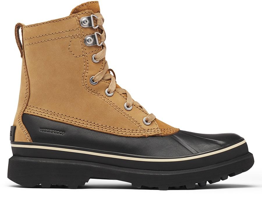 Sorel Adult Unisex Caribou Storm Wp Men's Winter Snow Boots, Uk 11 Buff