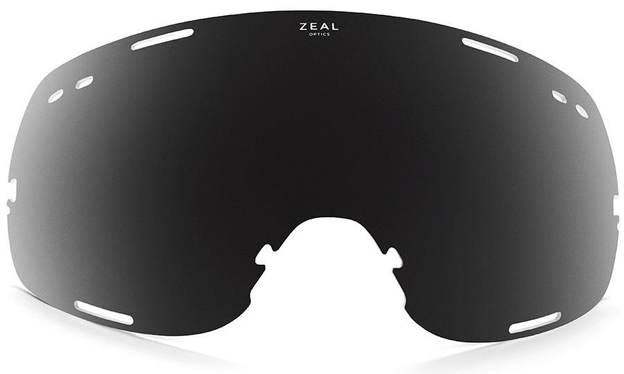 Zeal Fargo Snowboard/Ski Goggle Spare Lens, One Size, Dark Grey