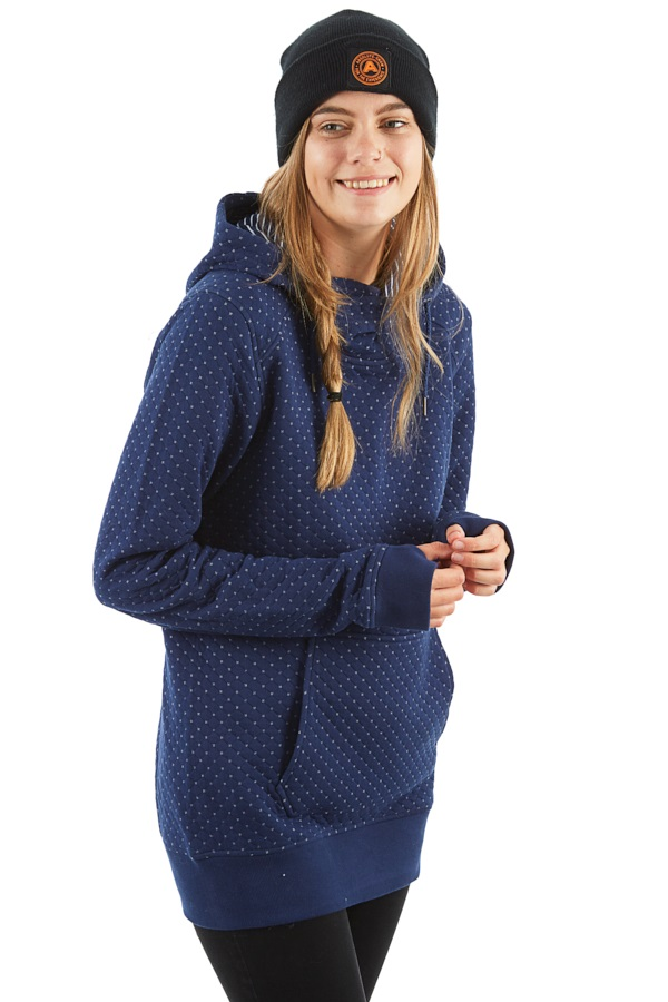 Roxy Dipsy Women's Snowboard/Ski Hoodie, XS Medieval Blue