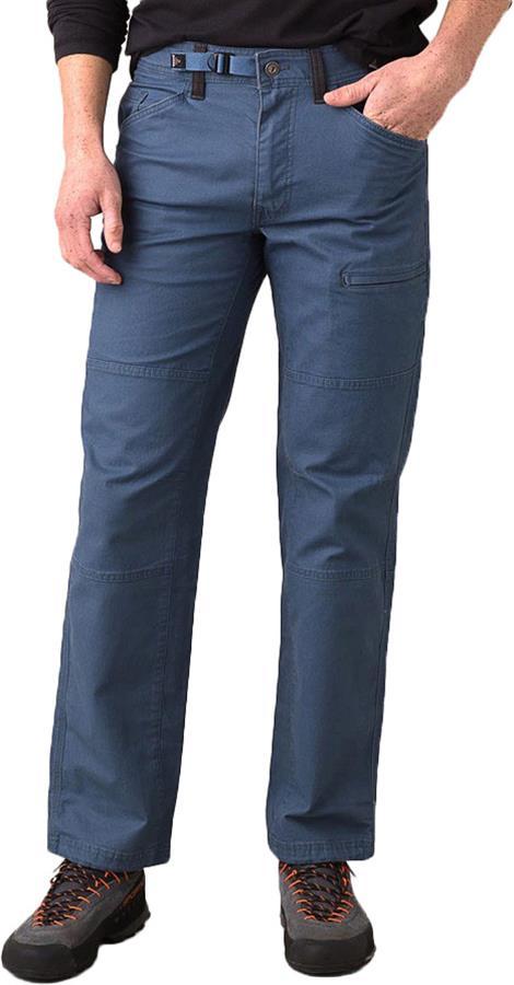 "Prana Adult Unisex Kragg Rock Climbing Trousers, 30"" Nickel"