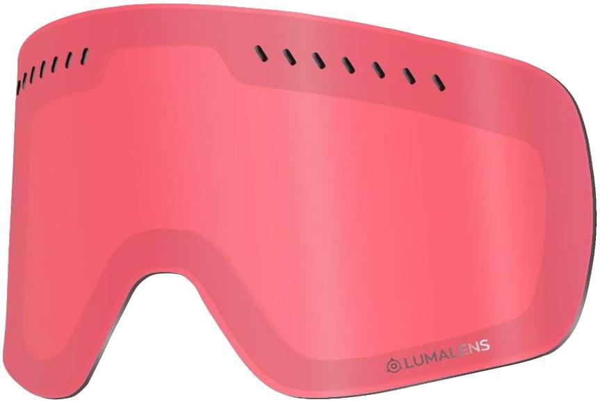 Dragon NFXs Snowboard/Ski Goggles Spare Lens, LumaLens Rose